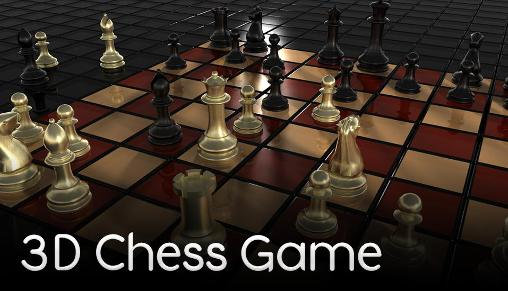3D chess game poster