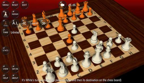 3D chess game screenshot 1