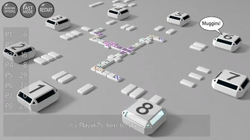 Download 3D dominoes Android free game.