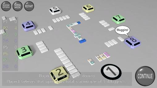 Get full version of Android apk app 3D dominoes for tablet and phone.
