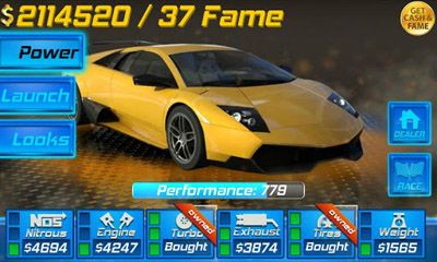 Download 3D Drag Race Android free game.