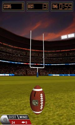 Download 3D Flick Field Goal Android free game.