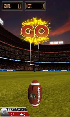 Get full version of Android apk app 3D Flick Field Goal for tablet and phone.
