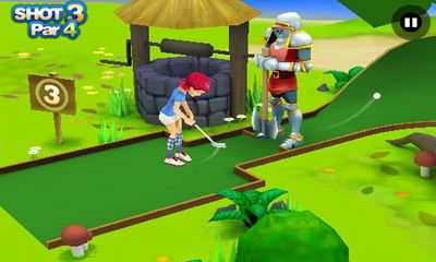 3D Mini Golf Challenge screenshot 1