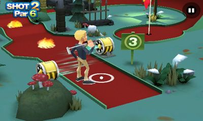3D Mini Golf Challenge screenshot 2