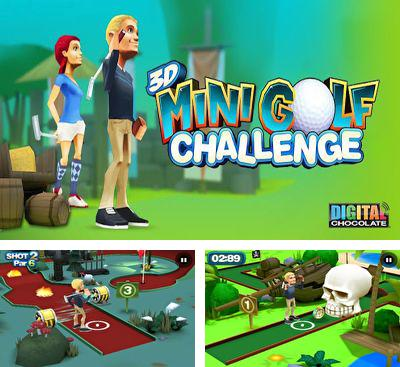 In addition to the game Let's Golf! 2 HD for Android phones and tablets, you can also download 3D Mini Golf Challenge for free.