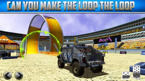Download 3D Monster truck: Parking game Android free game.