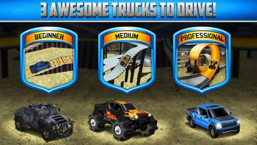 Гра 3D Monster truck: Parking game на Android - повна версія.