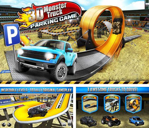 3D Monster truck: Parking game