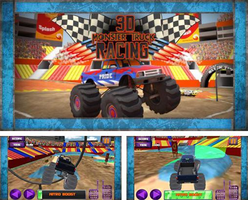 In addition to the game Whacksy Taxi for Android phones and tablets, you can also download 3D monster truck racing for free.