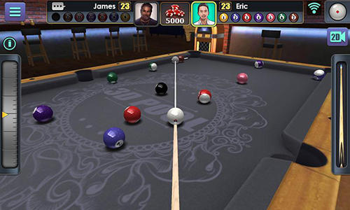 Juega a 3D pool ball para Android. Descarga gratuita del juego Billar 3D.