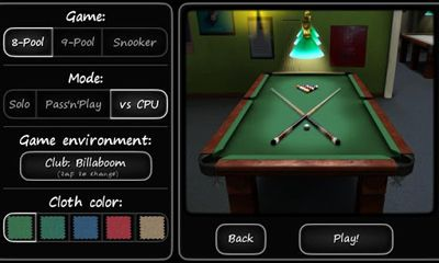 3D Pool game - 3ILLIARDS für Android spielen. Spiel 3D Pool - 3illiard kostenloser Download.