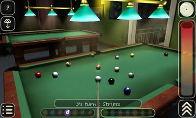 Screenshots von 3D Pool game - 3ILLIARDS für Android-Tablet, Smartphone.