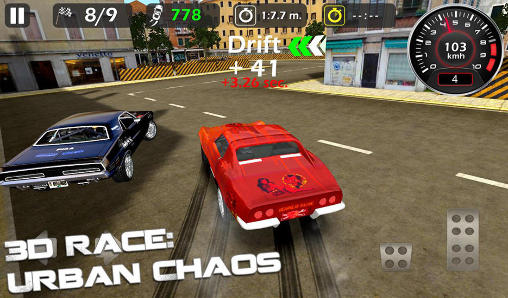 3d race: Urban chaos screenshot 2