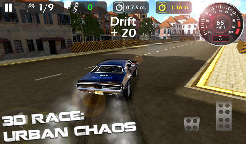 Screenshots von 3d race: Urban chaos für Android-Tablet, Smartphone.