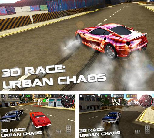 In addition to the game Project JDM: Drift underground for Android phones and tablets, you can also download 3d race: Urban chaos for free.