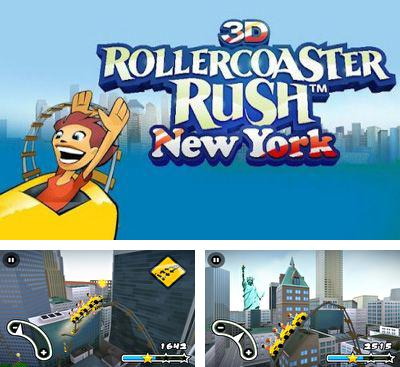 In addition to the game Nutty Fluffies Rollercoaster for Android phones and tablets, you can also download 3D Rollercoaster Rush. New York for free.
