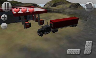Screenshots von 3D Truck Parking für Android-Tablet, Smartphone.