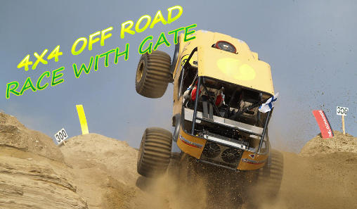 4х4 off road: Race with gate