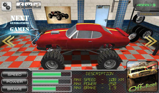 Kostenloses Android-Game 4x4 Off Road: Race With Gate. Vollversion der Android-apk-App Hirschjäger: Die 4х4 off road: Race with gate für Tablets und Telefone.