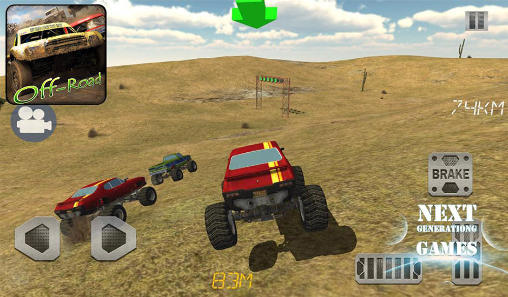4х4 off road: Race with gate für Android spielen. Spiel 4x4 Off Road: Race With Gate kostenloser Download.