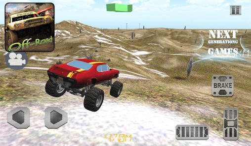 Screenshots von 4х4 off road: Race with gate für Android-Tablet, Smartphone.