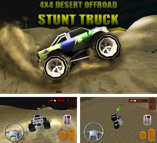 In addition to the game Bike Striker for Android phones and tablets, you can also download 4x4 desert offroad: Stunt truck for free.