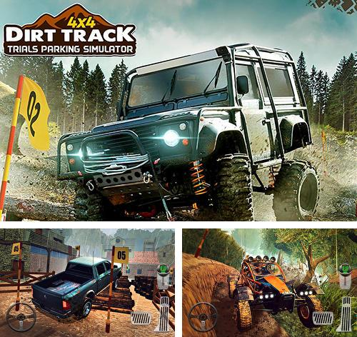 4x4 dirt off-road parking: Forest trials simulator
