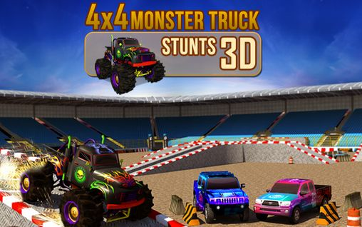 4x4 monster truck: Stunts 3D обложка