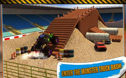 4x4 monster truck: Stunts 3D скриншот 2