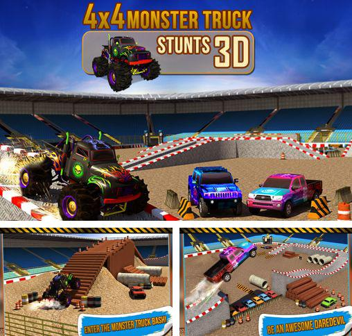 4x4 monster truck: Stunts 3D