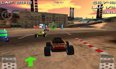 Screenshots of the 4x4 Offroad Racing for Android tablet, phone.