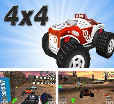 In addition to the game RC Mini Racers for Android phones and tablets, you can also download 4x4 Offroad Racing for free.
