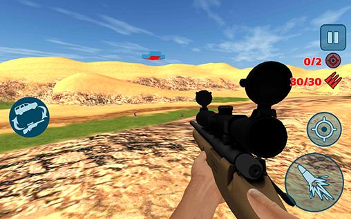4x4 offroad sniper hunter screenshot 3