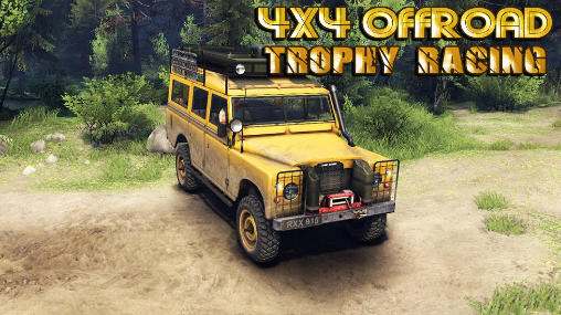 4x4 offroad trophy racing poster