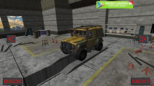 4x4 offroad trophy racing screenshot 1