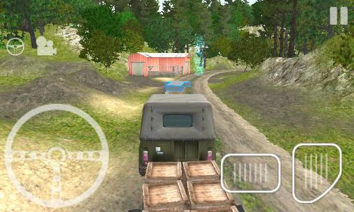 Screenshots von 4x4 SUVs in the backwoods für Android-Tablet, Smartphone.