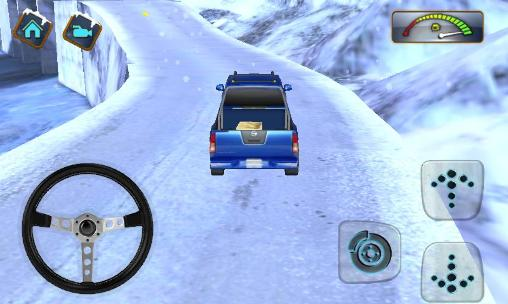 4x4 Winter snow drive 3D screenshot 1