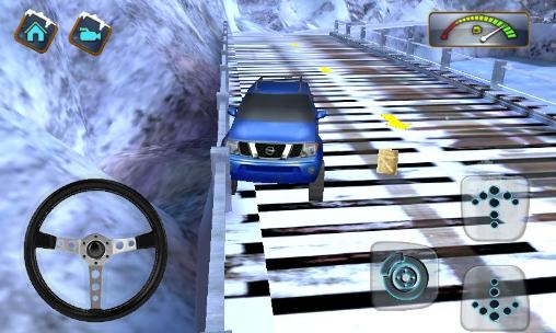 4x4 Winter snow drive 3D screenshot 2