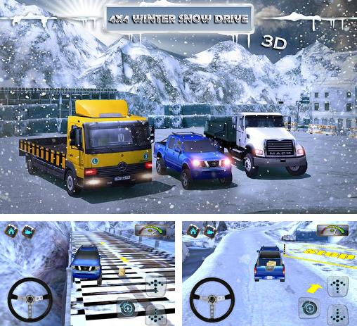 In addition to the game FH16 for Android phones and tablets, you can also download 4x4 Winter snow drive 3D for free.