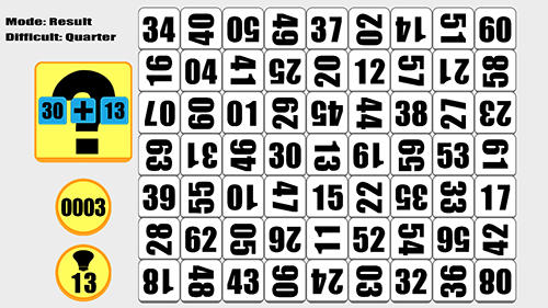 Screenshots von 63: Counting number puzzler für Android-Tablet, Smartphone.