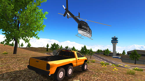 Screenshots von 6x6 offroad truck driving simulator für Android-Tablet, Smartphone.