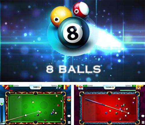 In addition to the game Cueist for Android phones and tablets, you can also download 8 ball billiard for free.