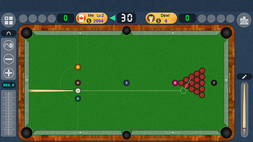 Screenshots von Pool live pro: 8-ball and 9-ball für Android-Tablet, Smartphone.