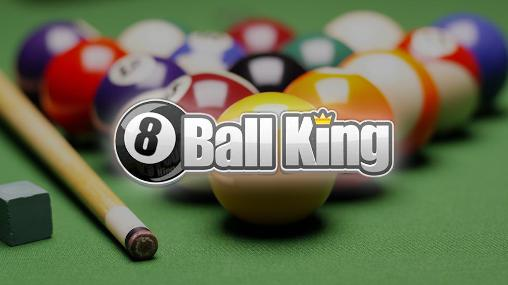 8 ball king: Pool billiards poster