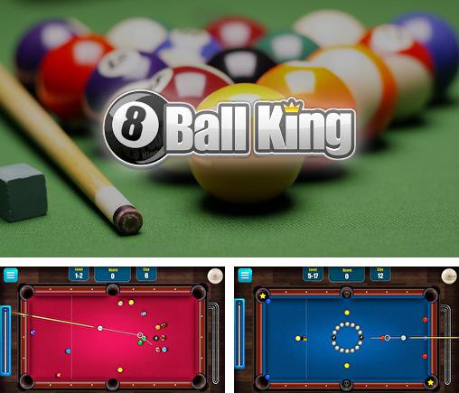 In addition to the game Real Pool 3D for Android phones and tablets, you can also download 8 ball king: Pool billiards for free.