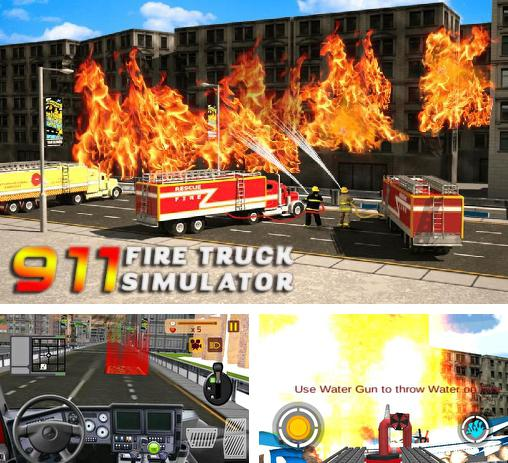 911 rescue fire truck: 3D simulator