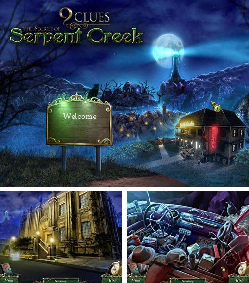 En plus du jeu Enigmatis 2: les brouillards de Ravenwood pour téléphones et tablettes Android, vous pouvez aussi télécharger gratuitement 9 indices: l'énigme de Serpent Creek, 9 clues: The secret of Serpent Creek.