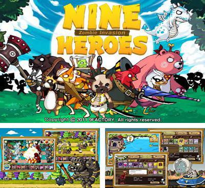 In addition to the game Defence Hero 2 for Android phones and tablets, you can also download 9 Heros Defence for free.