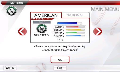 Screenshots von 9 innings: 2015 pro baseball für Android-Tablet, Smartphone.
